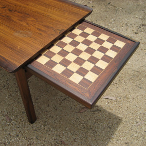 rosewood coffee table - Kindt-Larsen for Seffle Mobelfabrik