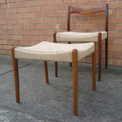 papercord chair and stool - Fler Dining 64